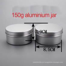 150g Creme / Loção Alumínio Screw Cap Container / Jar / Cans