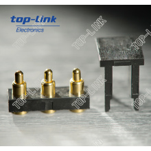 Gold Plated Pogo Pin Conncetor for Signal Transmission, PCB