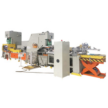 Chemical paint can ring making machine production line