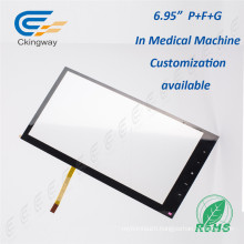 Industrial Film+Glass 5.6 Inch 4 Wire Resistive Touch Screen Panel