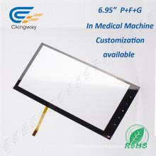 Промышленная пленка + стекло 5,6-дюймовая 4-х проводная резистивная сенсорная панель