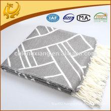 Wholesale Soft Fashion Jacquard Acrylic Shawls