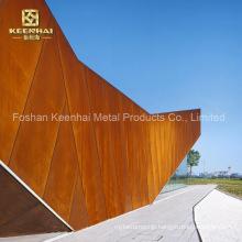 Outside Decorative Anti Rust Corten Steel Sheet Plate (KH-CS-02)