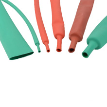 Large Diameter Insulation Thin Wall Silicone 600v Heat Resistant Shrink Tubing