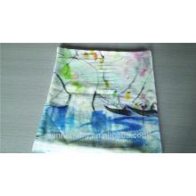 Atacado mais novo lenço de cachemira de pintura a mão