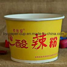 Portátil de Customized Noodle Yellow Bowls