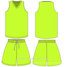 OEM \ ODM de haute qualité Coloré design polyester sport uniforme Full sublimation logo personnalisé design dernier basket maillots