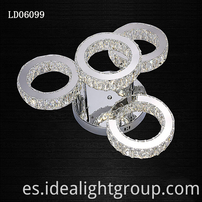 chandelier led ceiling light