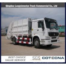 Caminhão de lixo de compactador de alta qualidade