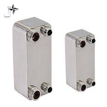 Intercambiador de calor de placas soldadas chino AISI 304 para calentador de agua