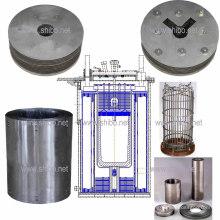 Zone aqueuse de molybdène pour la croissance du cristal saphir