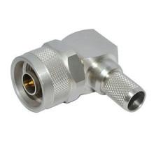 Cable LMR400 de crimpado de conector macho tipo N