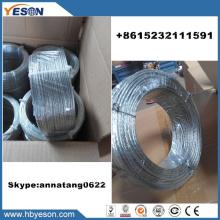 7 hilos trenzados de alambre galvanizado multistrand