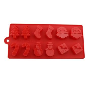 BPA livre Silicone Chocolate Candy Mold Baking Tools