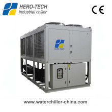175kw -20c Low Temperature Air Cooled Screw Water Chiller for Food Processing Machinery Industry