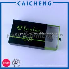 Boîte de cadeau de papier de carton 5x7 de qualité en forme d'oreiller Emballage de cosmétiques