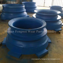 Manganese Steel Cone Crusher Parts Foundry