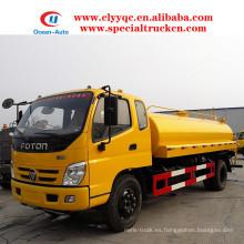 FOTON 4X2 agua bowser 10000 litros camión cisterna de agua para la venta caliente