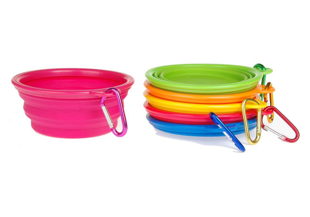 multi colors pet bowl