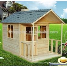 casa de juegos para niños de madera casita de cubículo / casa de mascotas