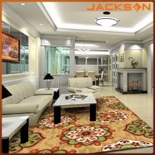 Tapete decorativo de sala de visitas personalizada