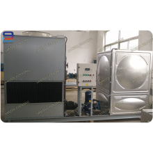 Torre de refrigeración de agua integrada con sistema de circulación
