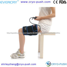 Professional design for patients compression sleeve for legs cold hot packs