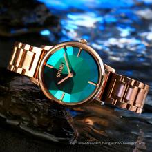 SKMEI 1789 Fashion Trend Quartz Watch Ladies Fast Shipping Stainless Steel luxury Jewelry Watch