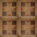 Revestimento de mosaico de madeira reconstituído em carvalho francês Versailles