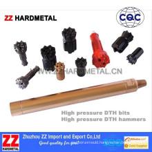 5-Inch High Air Pressure Tungsten Carbide DTH Drill Bit