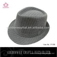 Yiwu polyester fedora hat for ladies