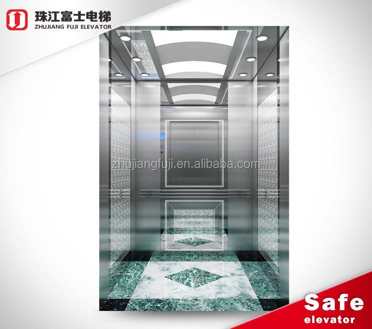 Small Machine Room Automatic Vertical Passenger Lift Elevator