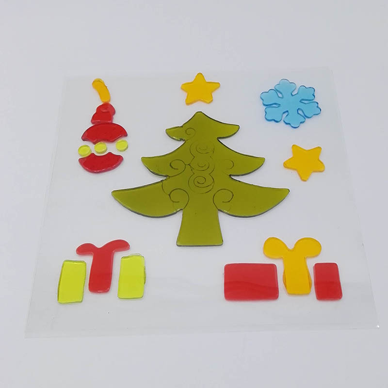 Christmas Tree Gel Sticker