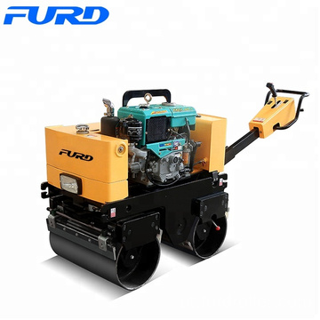 FURD Brand Small Vibration Road Roller 0.8 ton Manual Asphalt Compactor Roller (FYL-800CS)