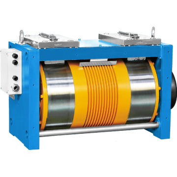 Ø410 Gearless Lift Traction Machine Met Converter 3 Fase 400V