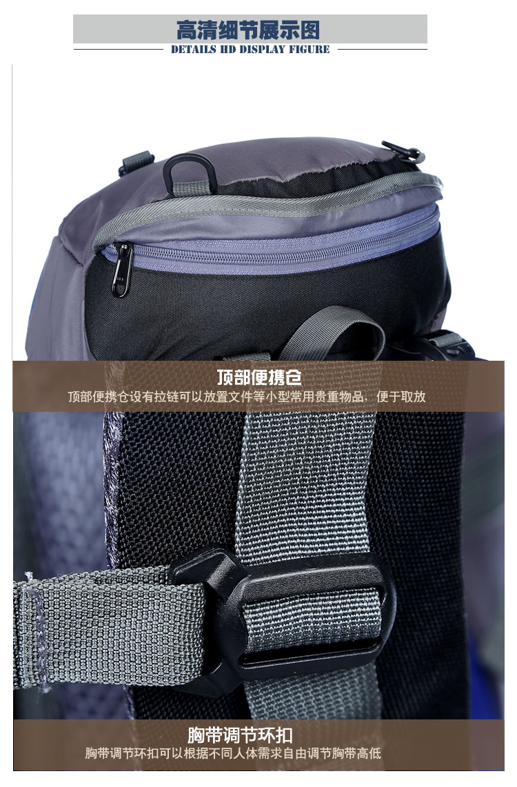 Waterproof Anti-theft Backpack Bag