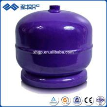 2 kg tragbare leere LPG-Gasflaschentanks mit niedrigem Druck für Camping