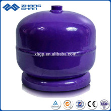 2kg Low Pressure Portable Empty Storage LPG Gas Cylinder Tanks for Camping