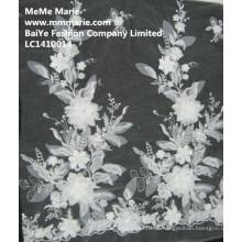 Spitze-Gewebe für Hochzeits-Kleid-Art- und Weiseentwurfs-Großverkauf-Spitze-Blume LC1410014