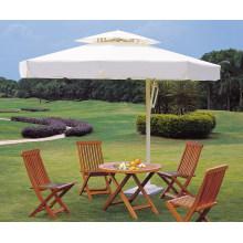 Patio de jardín al aire libre paraguas de sol