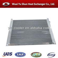 Radiador de aire / refrigerador de aire / intercambiador de calor de placa de aluminio para compresor de aire