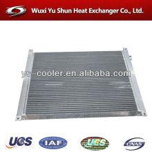 Сконструированный радиатор / воздушный охладитель / алюминиевый пластинчатый теплообменник для воздушного компрессора