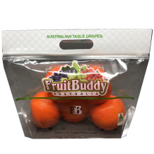 Top Ziplock Zipper Plastic Bag Fresh Keeping Apple Pearl Banana Grape Fruit Bag
