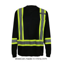 Fabricant Midia Long Reflective Safety T-Shirt