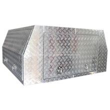 caixa de ferramentas de alumínio de asa de gaivota