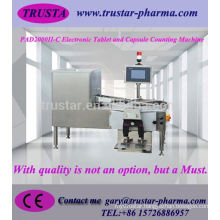 Capsules and medicine pills counting and filling machine