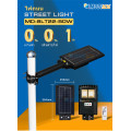 solar street light with battery and panel