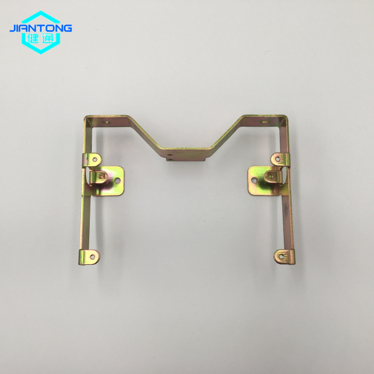 custom sheet metal zinc plated bending stamping part (3)