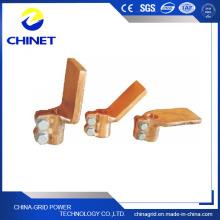 Sbj-P Type Plaque plate Serre-pression en cuivre