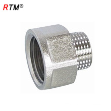 A 17 4 12 female thread pipe coupling threaded pipe caps